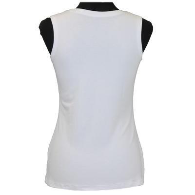 Bílé tričko s širokými ramínky Tamara - 4