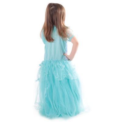 Karnevalový kostým princezna Elsa tyrkysový - 4