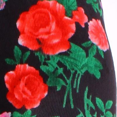 Manžestrové květované legíny Tauri zelené - 4