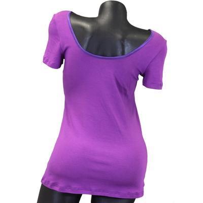 Fialové tričko s krátkým rukávem Belita - 4
