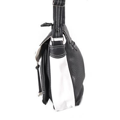 Černobílá crossbody kabelka Patricia - 4