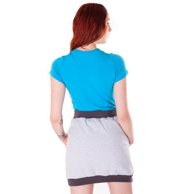 Modré tričko s krátkým rukávem Paula - 4