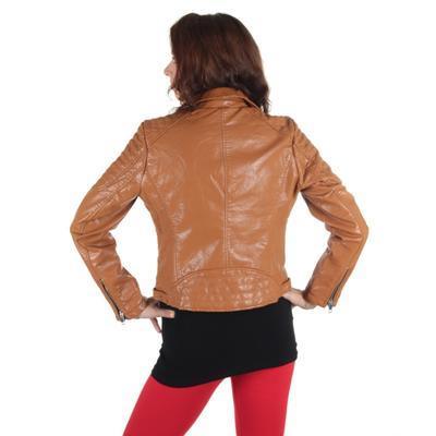 Atraktivní koženková bunda Ramon  - 4