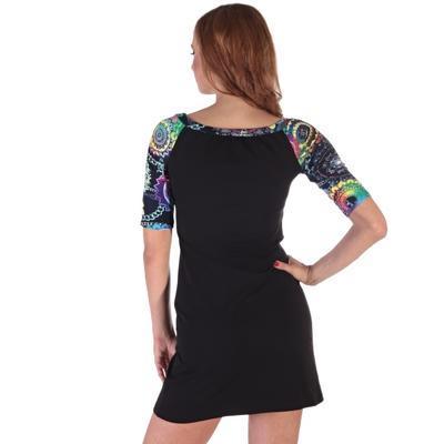 Krátké černé šaty Aimee - 4