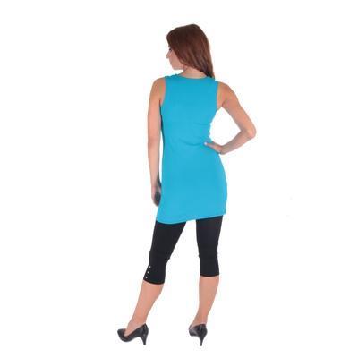 Tmavě modré letní šaty Pandora  - 4