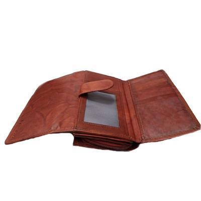 Dámská luxusní peněženka Esther hnědočervená - 4