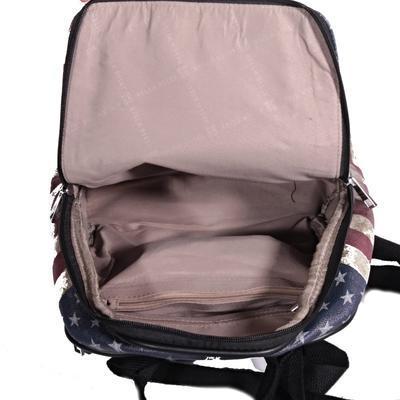 Stylový batoh Natálie motiv Amerika 2A - 4