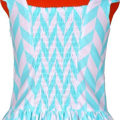 Tyrkysové šaty Bethany - 4