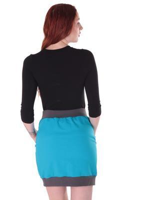Černé tričko s midi rukávem Kristin - 4