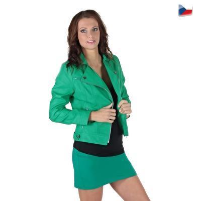 Tmavě zelená sukně Ashle - 4