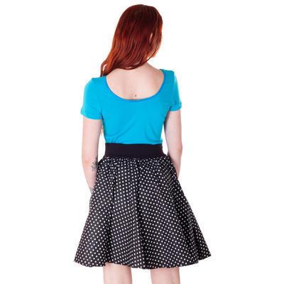 Modré tričko s krátkým rukávem Belita - 4