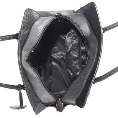 Elegantní černá kabelka Gipy 8A - 4