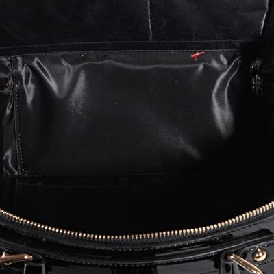 Mini černá kabelka do ruky Berta 8B - 4