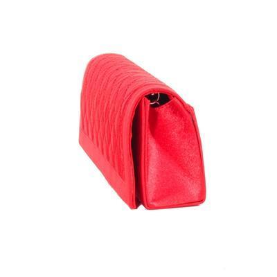 Červené stylové plesové psaníčko Kerol 5E - 4