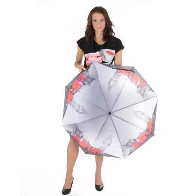 Skládací dámský deštník Mett motiv London - 4