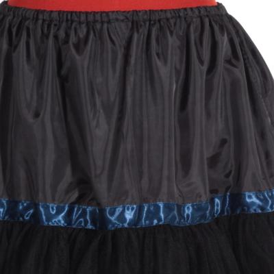 Černá spodnička Manky pod sukně a šaty - 4