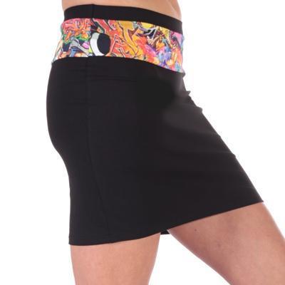 Dámská mini sukně Grafity - 4
