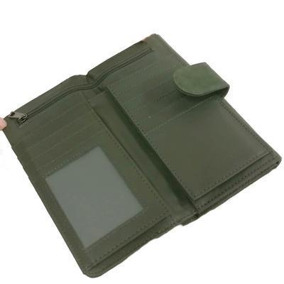 Zelená stylová dámská peněženka Valentino - 4