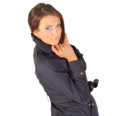 Modní prošívaný kabát Leontyn - 4