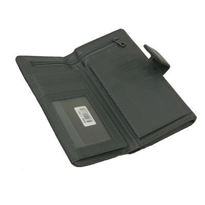 Šedá stylová dámská peněženka Valentino - 4