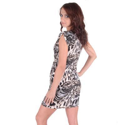 Letní šaty se zvířecím motivem Smaily  - 4