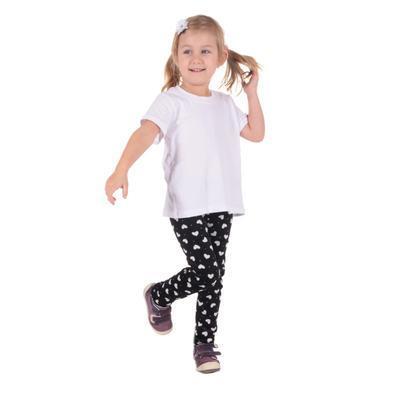 Dětské tričko krátký rukáv Laura bílé od 98-116 - 4