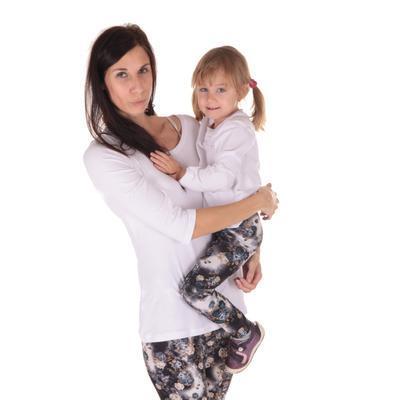 Dětské tričko dlouhý rukáv Marlen bílé od 122-146 - 4
