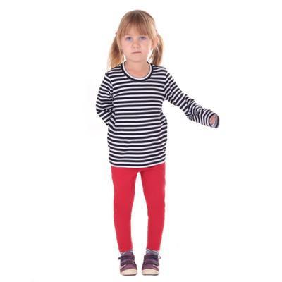 Červené dětské legíny Cruso od 98-116  - 4