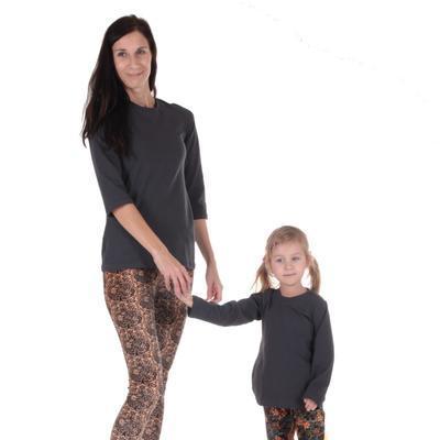 Dětské tričko dlouhý rukáv Marlen šedé od 98-116 - 4