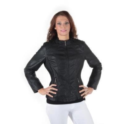 Dámská černá bunda Ervin - 4