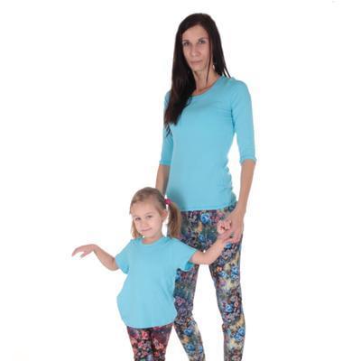 Tričko krátký rukáv Laura světle modré od 122-146 - 4