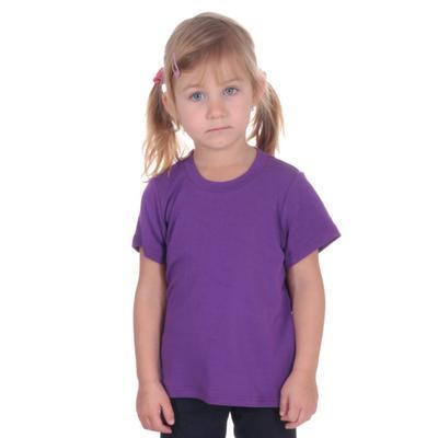 Fialové dětské tričko krátký rukáv Laura od 98-116 - 4