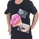 Dívčí tričko s moderní nášivkou Rozalie od 98-116 - 4/5