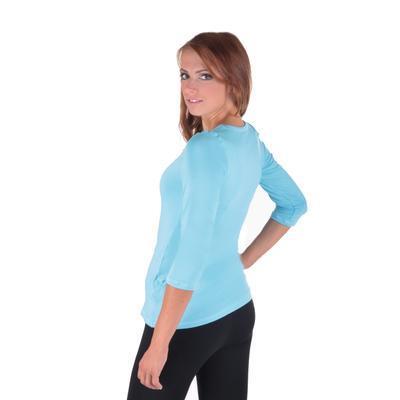 Světle modré dámské tričko Riky - 4