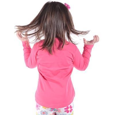 Růžové měnící bavlněné tričko Mick - 4