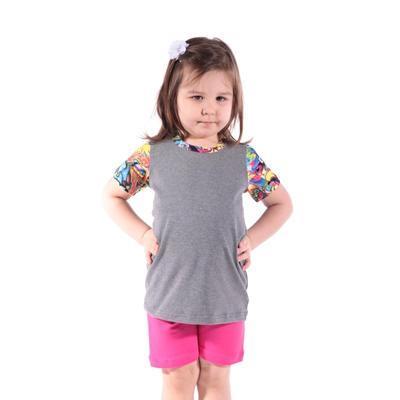 Šedé dětské tričko Sam - 4