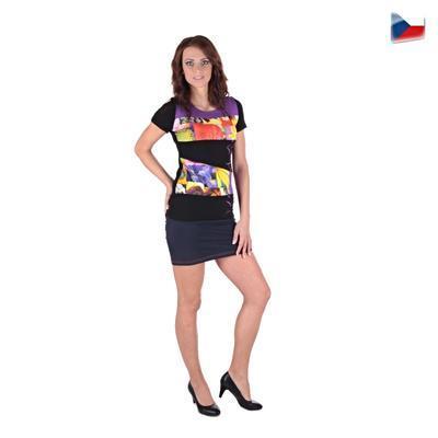 Elegantní tričko Naill  fialové - 5