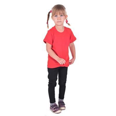 Červené dětské tričko krátký rukáv Laura od 122-146 - 5