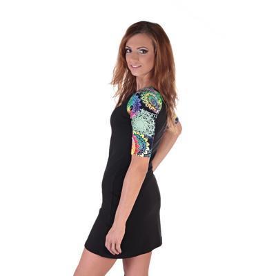Krátké černé šaty Aimee - 5