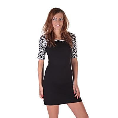 Elegantní dámské šaty Black - 5