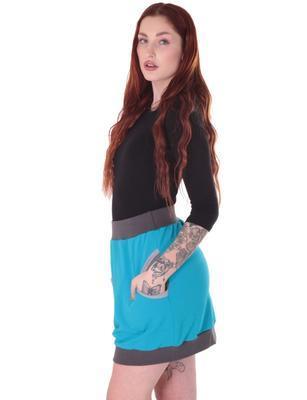 Černé tričko s midi rukávem Kristin - 5