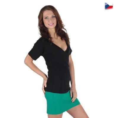 Tmavě zelená sukně Ashle - 5