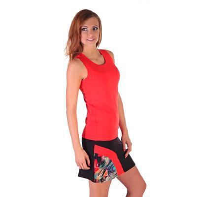 Stylová černá sukně s potiskem Liem  - 5