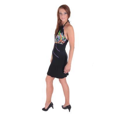 Letní šaty za krk Panky - 5