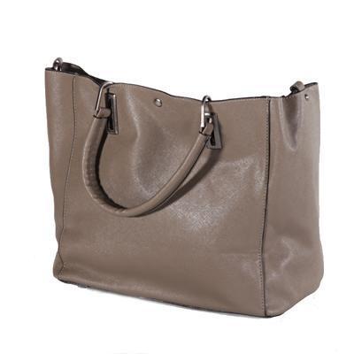 Atraktivní dámská kabelka Rosi šedá - 5