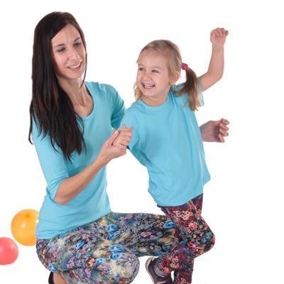 Tričko krátký rukáv Laura světle modré od 122-146 - 5