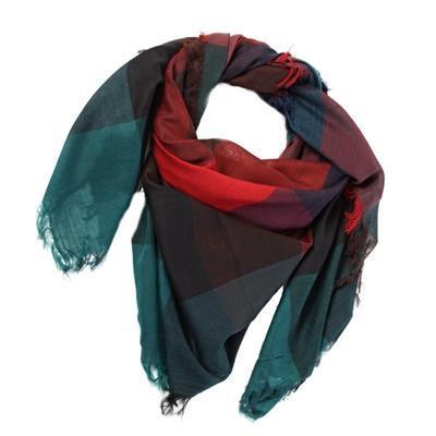 Čtvercový šátek Klaudie - 5