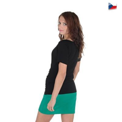 Tmavě zelená sukně Ashle - 6