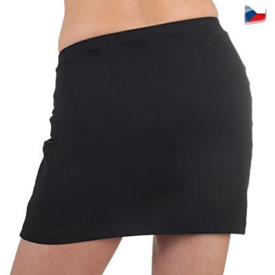 Bavlněná černá sukně Ashle - 6