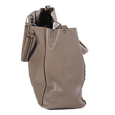 Atraktivní dámská kabelka Rosi šedá - 6